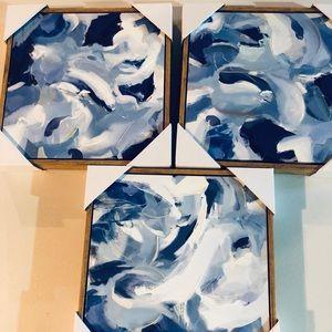 Target ; set of three 12x12 prints